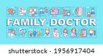 family doctor word concepts...