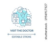 visit the doctor blue concept... | Shutterstock .eps vector #1956917527