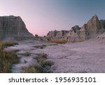 Badlands  South Dakota  At...