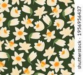 vector seamless pattern of... | Shutterstock .eps vector #1956956437