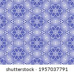 abstract fantasy striped thin... | Shutterstock .eps vector #1957037791