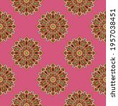 abstract seamless pattern with... | Shutterstock .eps vector #1957038451