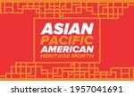 asian pacific american heritage ... | Shutterstock .eps vector #1957041691