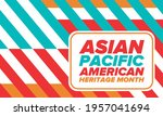 asian pacific american heritage ... | Shutterstock .eps vector #1957041694