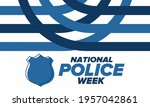 national police week in may.... | Shutterstock .eps vector #1957042861