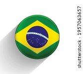 glass light ball with flag of... | Shutterstock .eps vector #1957063657
