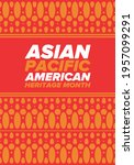 asian pacific american heritage ... | Shutterstock .eps vector #1957099291