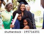 african american student... | Shutterstock . vector #195716351