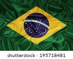 brazil flag 12 | Shutterstock . vector #195718481