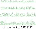city | Shutterstock .eps vector #195721259