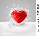 raster version. appetizing... | Shutterstock . vector #195724841