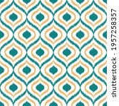 geometric seamless pattern... | Shutterstock .eps vector #1957258357