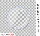 glass lens vector illustration | Shutterstock .eps vector #195726239