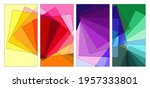 vector colorful abstract fluid... | Shutterstock .eps vector #1957333801