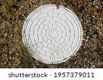 Handhole For Sewer Pipe Repair. ...