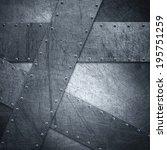metal background | Shutterstock . vector #195751259