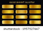golden gradients swatches set...
