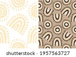 simple abstract geometric print....   Shutterstock .eps vector #1957563727
