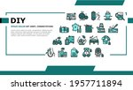 diy crafts handmade landing web ...   Shutterstock .eps vector #1957711894
