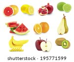 fruits  | Shutterstock . vector #195771599