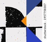 new grunge aesthetics in... | Shutterstock .eps vector #1957758307