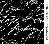 vector seamless pattern  linear ... | Shutterstock .eps vector #1957817821