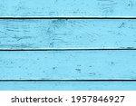 Grunge Wood Texture. Blue Paint ...