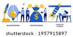 brainstorming  crowdfunding ...   Shutterstock .eps vector #1957915897
