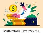 individual financial goal...   Shutterstock .eps vector #1957927711