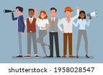 join our team concept. business ...   Shutterstock .eps vector #1958028547