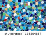 Colorful  Ceramic Tile Pattern...