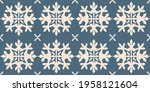 christmas drawing with... | Shutterstock .eps vector #1958121604