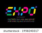 modern style font  typography...   Shutterstock .eps vector #1958240317
