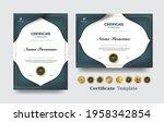 certificate of appreciation... | Shutterstock .eps vector #1958342854