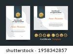 certificate of appreciation... | Shutterstock .eps vector #1958342857