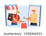flat style illustration  of... | Shutterstock .eps vector #1958366521