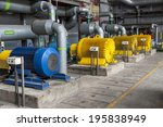 engine room   power station.   Shutterstock . vector #195838949