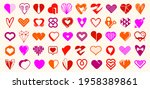 collection of hearts vector...   Shutterstock .eps vector #1958389861