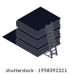 education and knowledge concept ...   Shutterstock .eps vector #1958392321