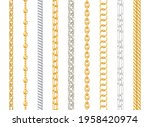 realistic detailed 3d silver...   Shutterstock .eps vector #1958420974