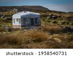 Abandoned Caravan In Remote...