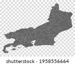 blank map state rio de janeiro...