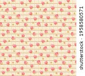 white chocolate bar seamless... | Shutterstock . vector #1958580571