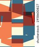 abstract grunge vector...   Shutterstock .eps vector #1958600827
