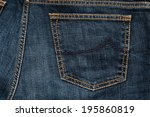 Jeans Texture   The Back Pocket