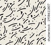 vector seamless pattern.... | Shutterstock .eps vector #1958611807