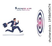 business aim. businessman with... | Shutterstock .eps vector #1958695474