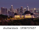 Griffith Observatory At Dusk...
