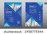 corporate business flyer poster ...   Shutterstock .eps vector #1958775544