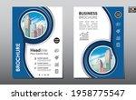 corporate business flyer poster ...   Shutterstock .eps vector #1958775547